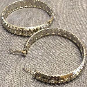 Silver stylish earrings